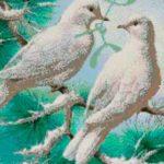 Особенности вышивки бисером больших картин-триптихов